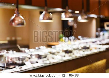Blurred Restaurant