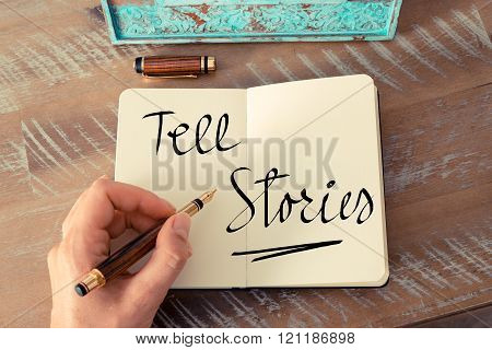 Handwritten Text Tell Stories