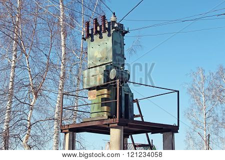 Old Small Transformer In The Village