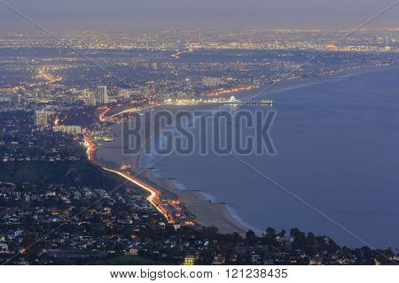 Santa Monica Bay From Top