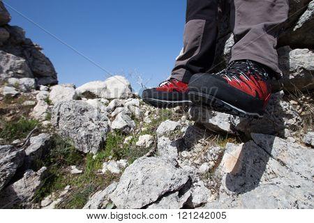Summer hiking.