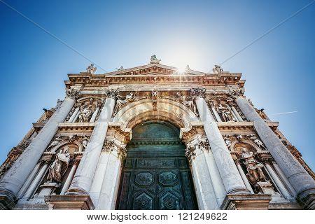 Basilica di Santa Maria della Salute Church Venice Italy