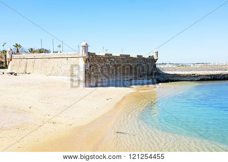 Medieval Fortaleza da Ponta da Bandeira at Lagos