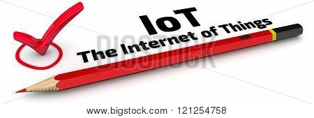 IoT. The Internet of Things. The Mark