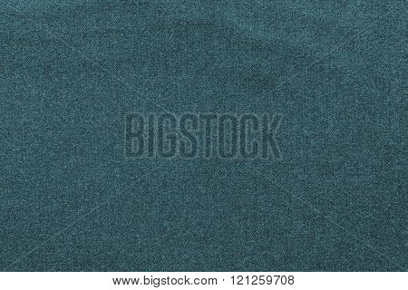 Textured Background From Textile Fabric Of Dark Indigo Color