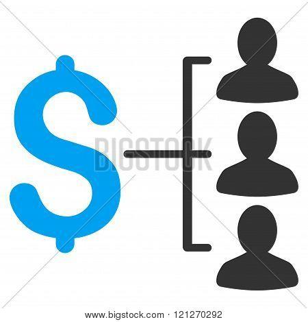 Money Recipients Flat Vector Icon