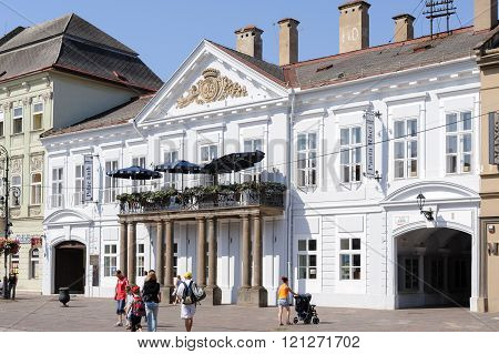 Classicist Csaky-dessewffy Palace In Kosice
