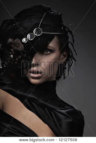 Foto de Bellas Artes de una dama de la moda