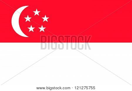 Singaporean Flag.