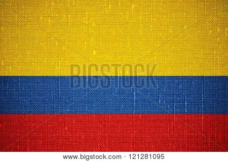 flag of Columbia