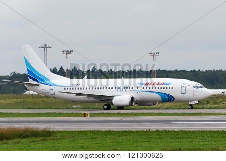 Boeing 737-400 Jet Aircraft