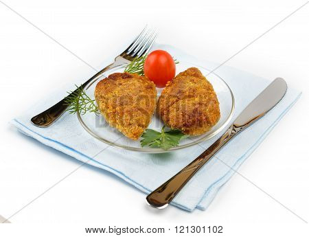 Chopped Chicken Cutlets.
