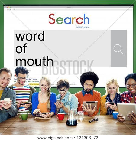 Word of Mouth Communication Influence Message Concept