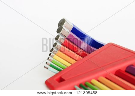 Colorful of hex allen tool kits
