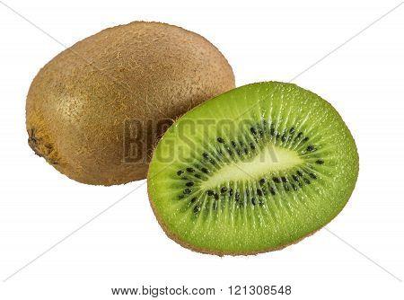 Kiwi Fruits Isolated