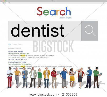 Dentist Dental Dentistry Medical Occupation Concept
