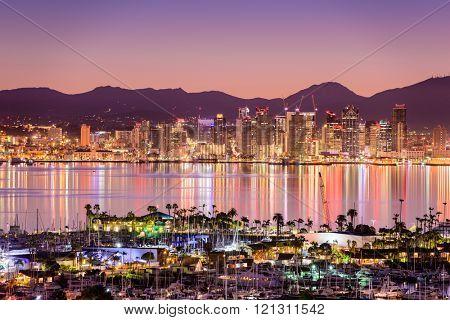 San Diego, California, USA cityscpae.