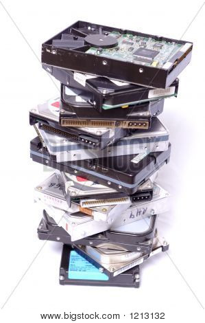 Stack Of Drives
