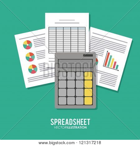Spreadsheet icon design