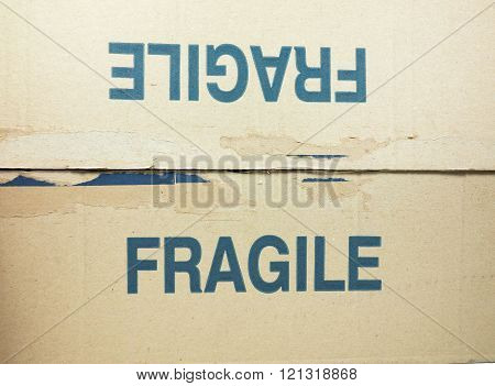Fragile Tag On Packet