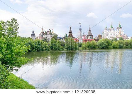 Izmailovo Kremlin, Moscow, Russia.