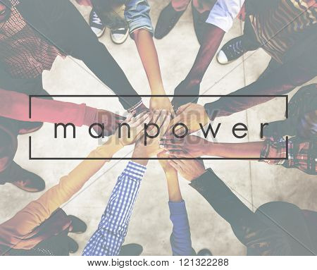 Manpower Management Agreement Collaborate Concept