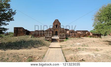 Stupas and pagodas of Bagan. Myanmar (Burma)