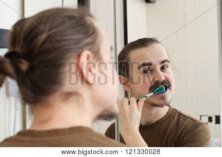 April Joke, Coloured Tooth Brush