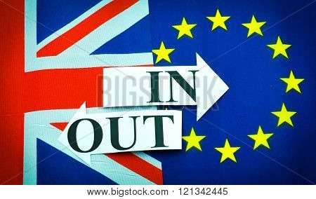 United Kingdom in versus out European Union