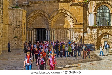 The Tourists In Jerusalem