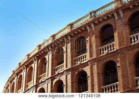 Valencia bullring Plaza de Toros in Xativa street of Spain