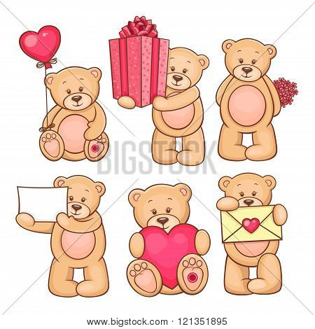 valentine teddy bears collection 3