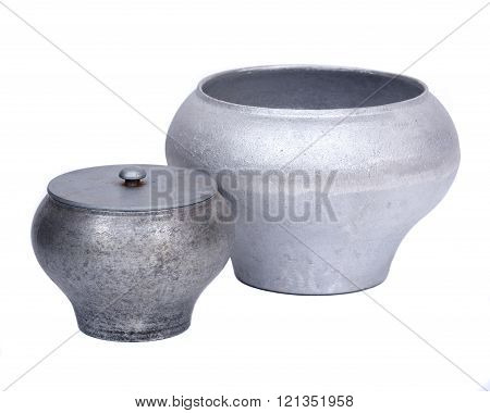 Cast iron pot, cauldron