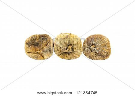 Dired figs isolated