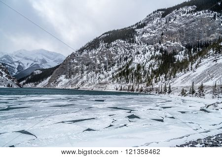 Whitemans Pond Near Canmore