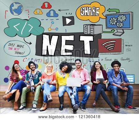 Net Weight Network Online Internet Concept