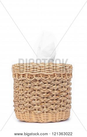 Craft Weave Tissue Paper Box