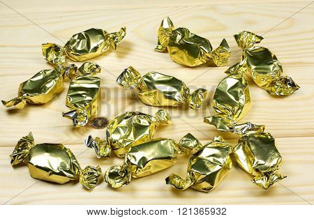 Wrapped Toffees
