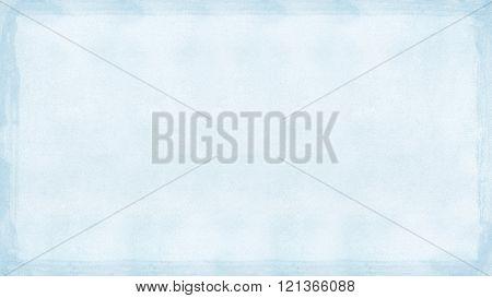 Navy Blue Grunge Retro Border Textured Background Powerpoint Widescreen