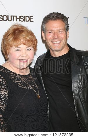 LOS ANGELES - MAR 10:  Patrika Darbo, Kevin Spirtas at the 5th Annual LANY Entertainment Mixer at the Saint Felix on March 10, 2016 in Los Angeles, CA