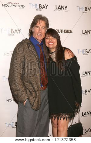 LOS ANGELES - MAR 10:  Ronn Moss, Devin DeVasquez at the 5th Annual LANY Entertainment Mixer at the Saint Felix on March 10, 2016 in Los Angeles, CA