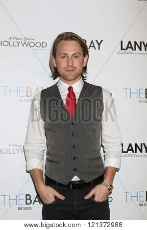 LOS ANGELES - MAR 10:  Eric Nelson at the 5th Annual LANY Entertainment Mixer at the Saint Felix on March 10, 2016 in Los Angeles, CA