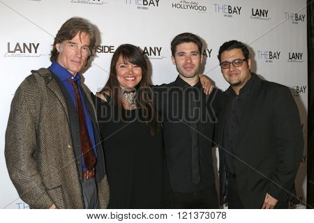LOS ANGELES - MAR 10:  Ronn Moss, Devin DeVasquez, Kristos Andrews, Gregori J Martin at the 5th Annual LANY Entertainment Mixer at the Saint Felix on March 10, 2016 in Los Angeles, CA