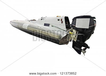 The image of a sport boat