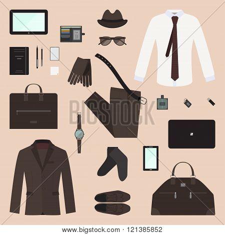 Business Man Concept Set