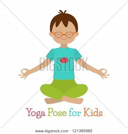 Kid Yoga Pose