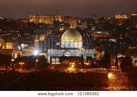 Sunset In Old Jerusalem