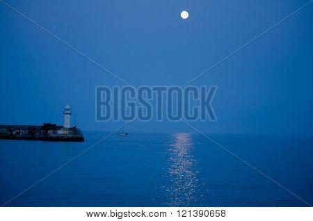 Beautiful Marine Landscape