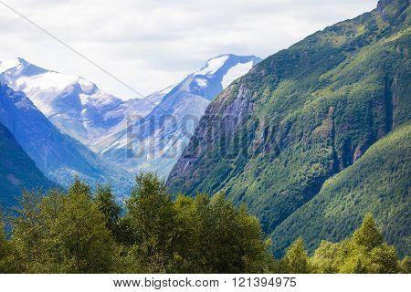 Glacier In The Geirangerfjord