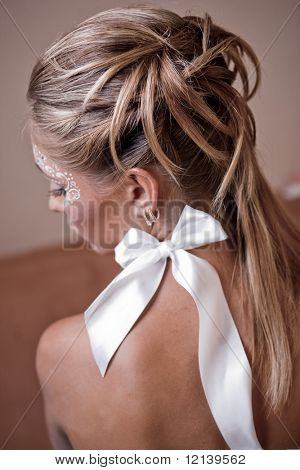 Beauitful bridal hairstyle